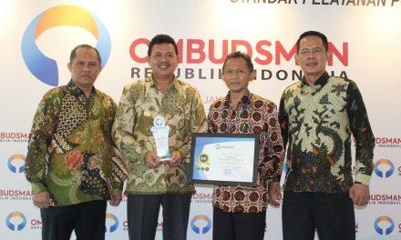 Pemkab Raih Standar Kepatuhan Pelayanan Publik Tertinggi dari Ombudsman RI Boyong Dua Predikat Sekaligus