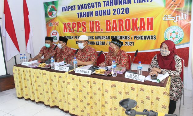 KSPPS UB. Barokah Koperasi Syariah Terbaik kedua se-Jawa Timur