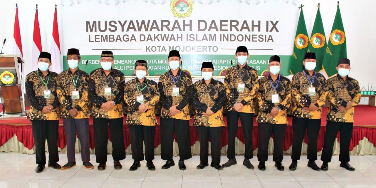 H. Suhartono Pimpin Kembali LDII Kota Mojokerto