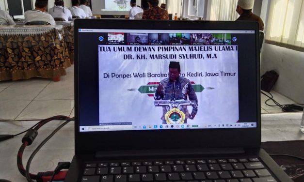 MUI Pusat memberikan Tausiyah Kebangsaan untuk seluruh pengurus DPD LDII